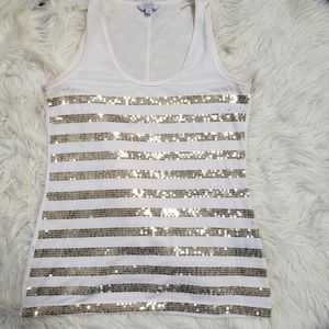 ⭐3/$30⭐Pure by Alfred Sung Sequin Tank
